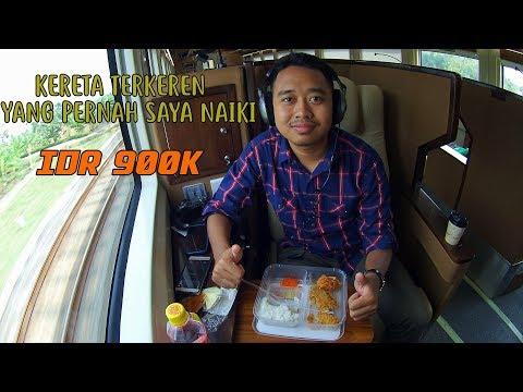 "Kereta ""FIRST CLASS"" TERBAIK YANG ADA di INDONESIA. PALING MEWAH & NYAMAN. Trip Luxury Argo Anggrek"