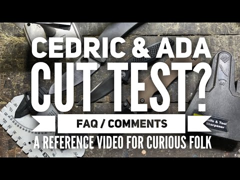 Cedric Ada Steel Edge Testing: Frequent Questions and Statements reference video