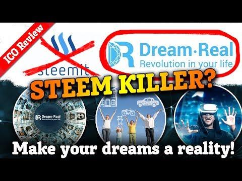 Dream-Real ICO – STEEMit Killer – Social media Platform that will make your dreams come true!
