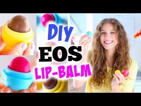 DIY EOS LIP-BALM ♡ mit Nutella, getönt oder Pfefferminze! BarbieLovesLipsticks