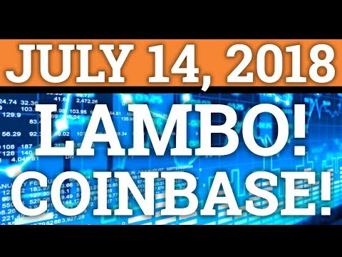 BITCOIN LAMBORGHINI? COINBASE ALTCOIN REVEALED? XLM, CARDANO ADA, BAT, ETC. CRYPTOCURRENCY NEWS 2018