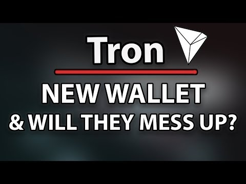 Will Tron (TRX) Mess Up Like Verge Did? & New Wallet (Hardware)