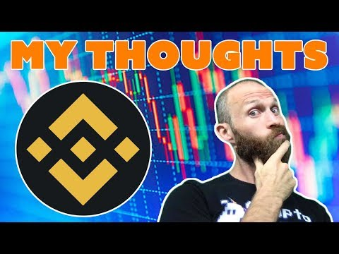 Binance – $BNB – My Thoughts
