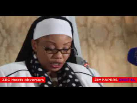 ZEC Chairperson Justice Priscilla Chigumba meets Election Observer missions