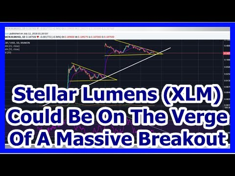Today News – Stellar Lumens (XLM) Could Be On The Verge Of A Massive Breakout