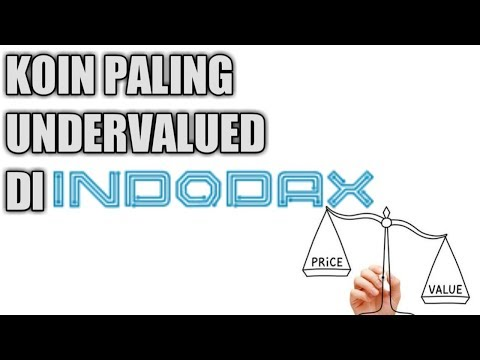 KOIN CRYPTOCURRENCY PALING UNDERVALUE DI INDODAX 2018