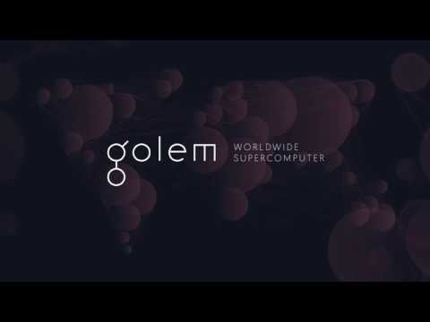 What is Golem (GNT) ? The decentralized Supercomputer
