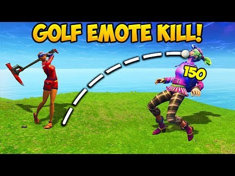 *FIRST EVER* GOLF KILL IN SEASON 5! – Fortnite Funny Fails and WTF Moments! #255 (Daily Moments)