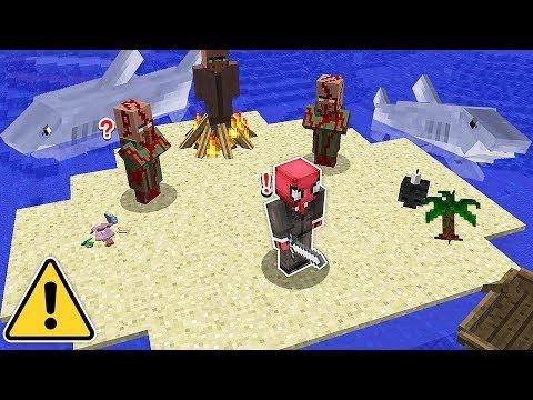 ÖRÜMCEK ADAM YENİ KORKUNÇ GİZEMLİ ADA BULDU! ? – Minecraft
