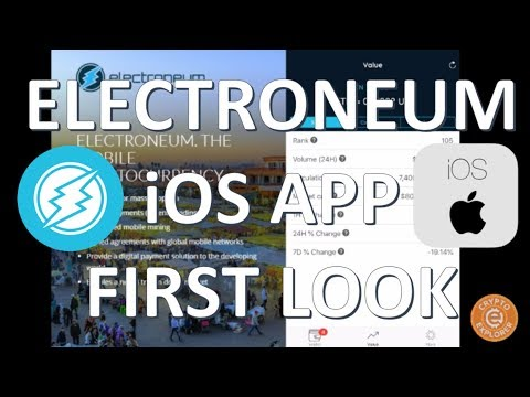 Electroneum iOS App First Look