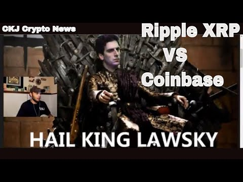 Ripple XRP  vs Coinbase the WAR Continues. We got the LAW on are side ..CKJ Crypto News