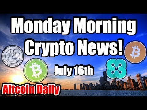 Daily Bitcoin & Cryptocurrency News! [Updates on Bitcoin Cash, Litecoin, Ethos, Forbes]