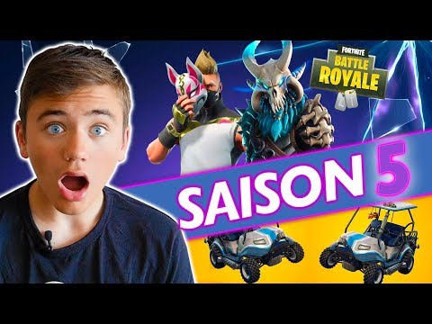 LA SAISON 5 EST ENFIN LÀ !!! –  FORTNITE BATTLE ROYALE – Néo The One