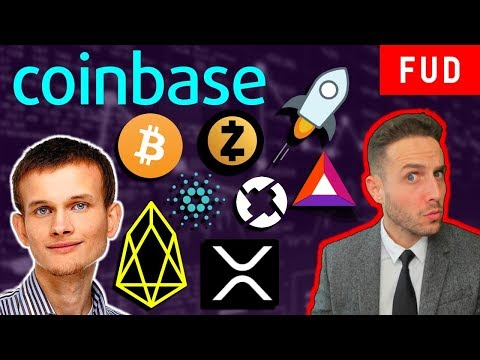 EOS attacking ETHEREUM? COINBASE to add ADA XLM ZRX ZEC BAT? Ripple XRP Too Slow? WTC Maternodes