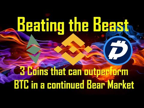 Beating the Beast: 3 Coins that can outperform $BTC: $BNB $ETC $DGB