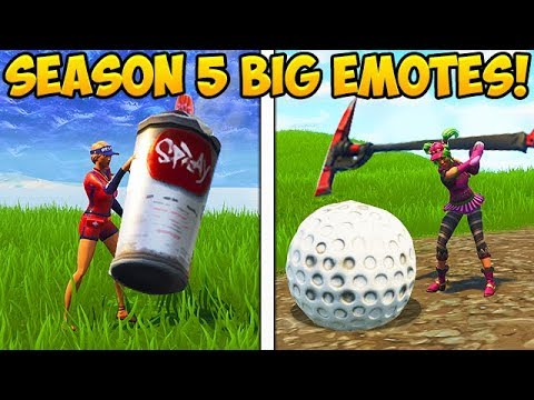 HOW TO DO BIG EMOTES IN SEASON 5! – Fortnite Funny Fails and WTF Moments! #258 (Daily Moments)