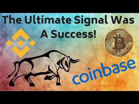 Did You Take Our Buy Signal? Coinbase At It Again! EOS Needs More Money? Binance Bank – ZEN Giveaway