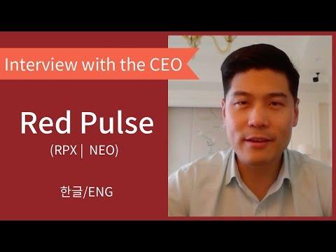 레드펄스 (RPX | 네오) 대표 인터뷰 / Red Pulse (RPX | NEO) Interview with the CEO