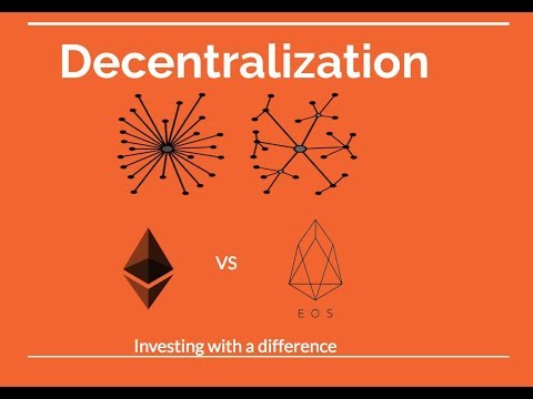 Decentralization – Ethereum vs EOS – Look at facts