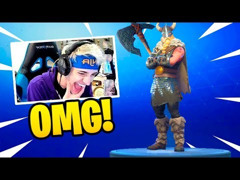 NINJA REACTS TO *NEW* MAGNUS SKIN & FOREBEARER PICKAXE! – Fortnite Funny Fails & WTF Moments #63