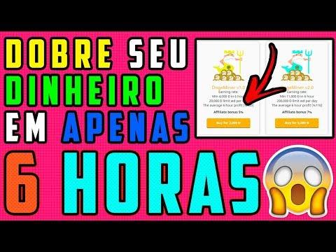 URGENTE ! Site DOBRANDO seu investimento em 6 HORAS ! (Doge,BTC e Litecoin) CORRE !