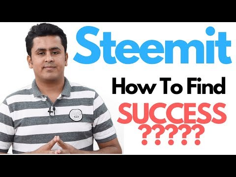 Steemit Things You Must Know For Success !