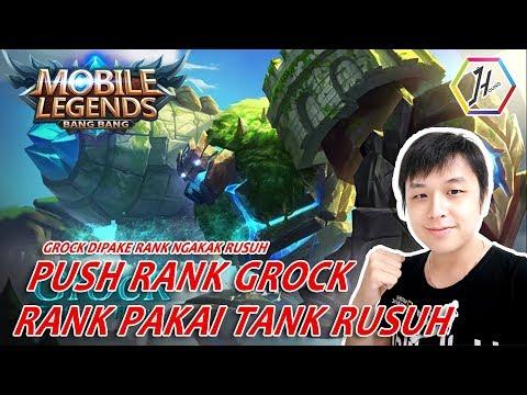 [Live] GROCK yuk kita rusuh di RANK GROCK GANAS (giveaway  ada di deskripsi)