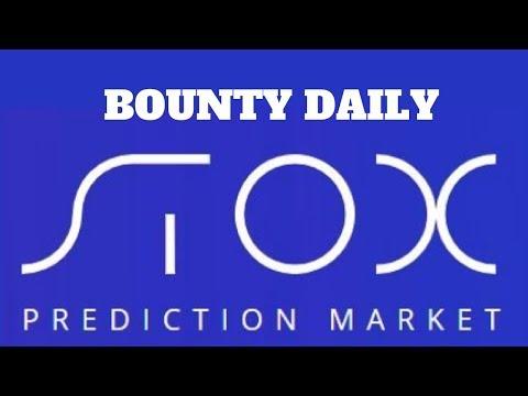 [BOUNTY] Get FREE 100 Stox list Coinmarketcap – Prediction Market