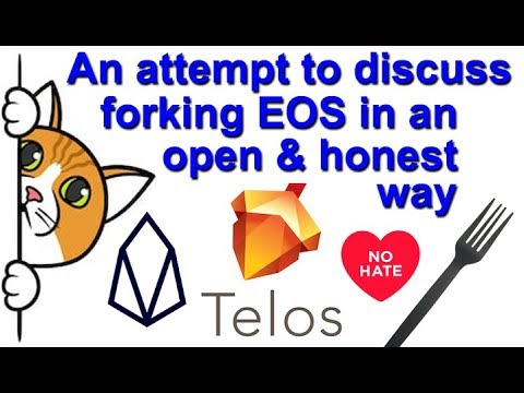 New EOS Fork – Telos – Just my personal opinion