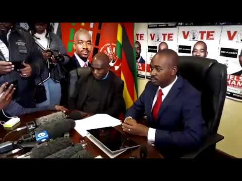 Chamisa, ZEC is misrepresenting facts when it says political parties witnessed ballot paper printing