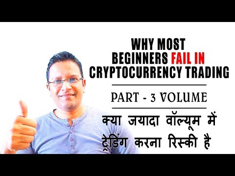Why Most Beginners FAIL in Cryptocurrency Trading PART 3? Avoid Crypto Trading with HIGH VOLUME