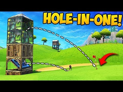 WORLD'S GREATEST GOLF TRICKSHOT! – Fortnite Funny Fails and WTF Moments! #260 (Daily Moments)