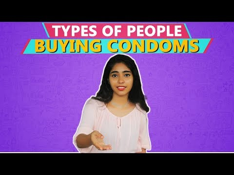 types of people buying condoms | bcc