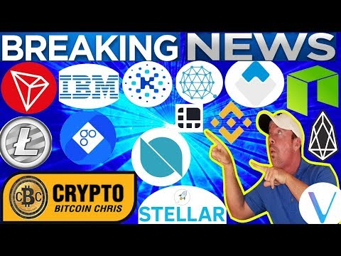Why BTC price surged? – IBM releases new coin! – McDonald's & OmiseGo  – Waves adds ERC20