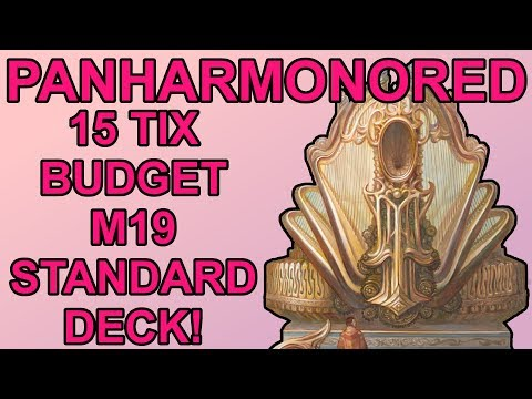 15 Tix Budget Core 2019 Standard Deck for Magic: The Gathering! – Panharmonored