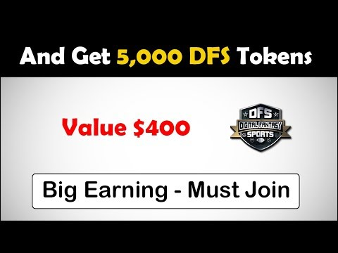 Join DFS Airdrop  & Get 5,000 DFS Tokens – Value $400