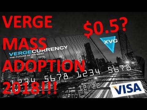 Verge Price Prediction 2018 – XVG Debit Card (TokenPay, Litecoin, Mass Adoptiion)