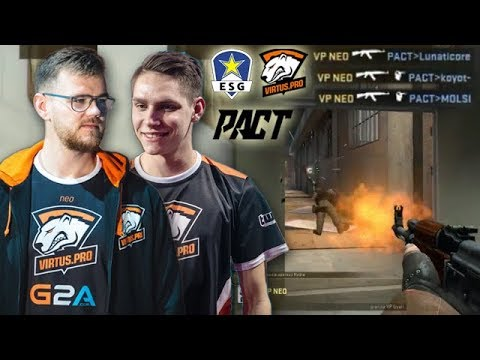 Neo 1 VS 3 Clutch! Michu 32 Frags! Virtus.pro Highlights VS Euronics & Pact
