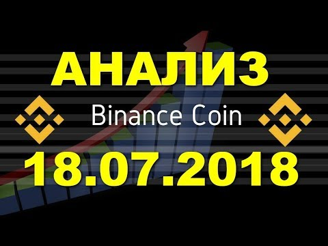 BNB/USD 18.07.2018.  Binance Coin является дефляционной по своей природе