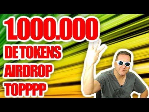 1.000.000 de tokens nesse Airdrop Topppp