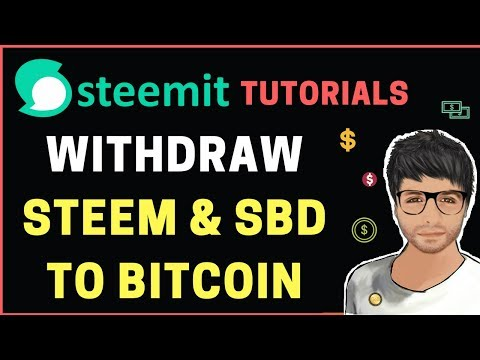 How to Withdraw STEEM and SBD – Steemit Tutorial Hindi #5
