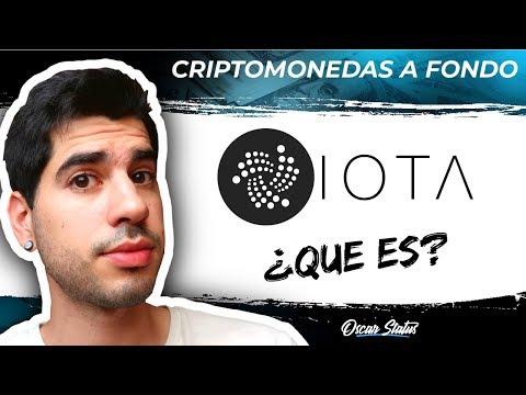 ¿QUE ES IOTA? | CRIPTOMONEDAS A FONDO ¿La criptomoneda con más futuro mas allá de 2018?