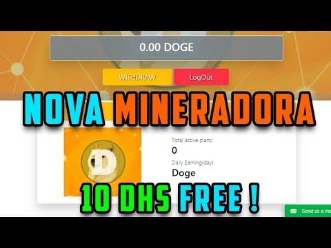 SAIU ! Nova Mineradora Dogecoin | 10 DHS | Ganhe até 81 MIL Doges em 45 dias !