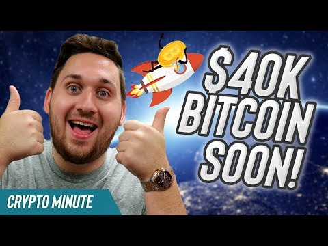$40,000 Bitcoin SOON?! (Bullish Bitcoin CryptoCurrency News)