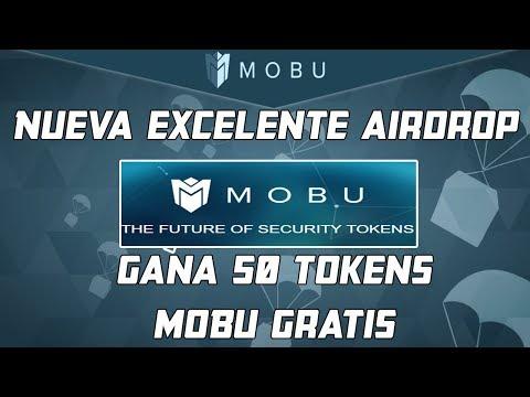 Excelente Airdrop MOBU 50 Tokens Gratis
