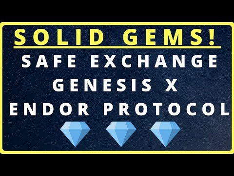 ? Next 10X Gems! Safe Exchange Coin SAFEX | Genesis X XGS | Endor Protocol EDR | $SAFEX $XGS $EDR