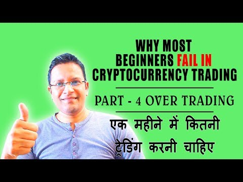 Why Most Beginners FAIL in Cryptocurrency Trading PART 4? OVERTRADING Biggest Crypto Trading Mistake