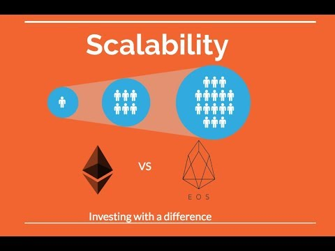 EOS vs ETH – enabling real world applications on blockchain