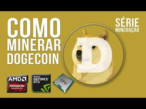 COMO MINERAR | DOGECOIN POR CPU | GPU AMD NVIDIA