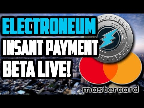 ELECTRONEUM INSTANT PAYMENT PATENT VS MASTERCARD! GET ETN LISTED ON BINANCE!